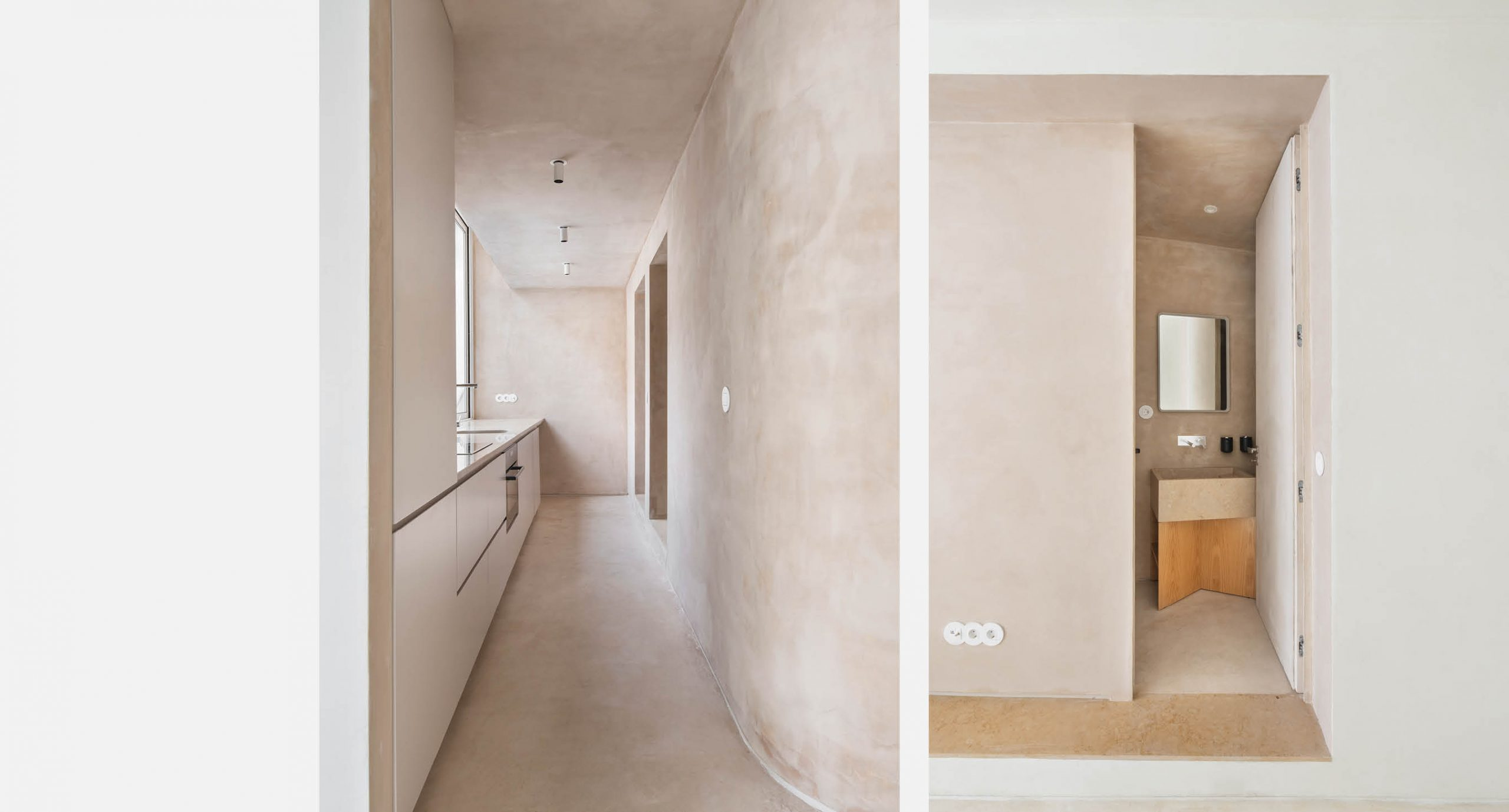 Spacegram_LeiteVasconcelos_Limestone_Stucco_Bege_Curved_Wall03